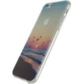 Xccess TPU Case Apple iPhone 6/6S Clear Beach Sunset