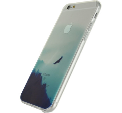 Xccess TPU Case Apple iPhone 6/6S Clear Woodland