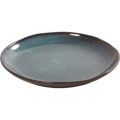 Image of Serax Aqua Dessertbord 22 cm Blauwe Spikkel