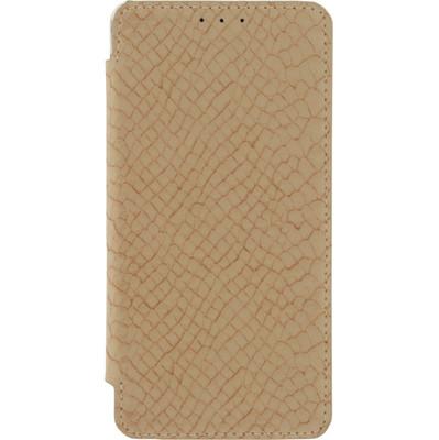 Mobilize Slim Booklet Book Case Samsung Galaxy A5 (2016) Soft Snake Beige