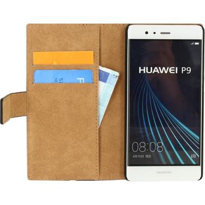 Mobilize Classic Wallet Book Case Huawei P9 Zwart