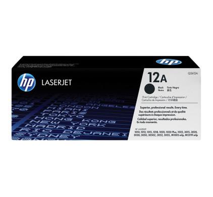 HP 12A LaserJet Toner Zwart (Q2612A)