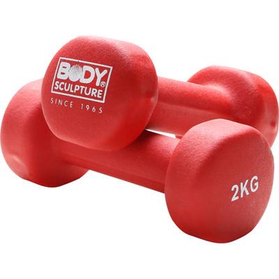Image of Body Sculpture Neopreen Dumbbellset 2x 2 kg