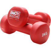 Body Sculpture Neopreen Dumbbellset 2x 2 kg