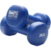 Body Sculpture Neopreen Dumbbellset 2x 3 kg