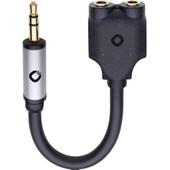 Oehlbach i-Jack 3,5 mm naar 2 x 3,5 mm Kabel