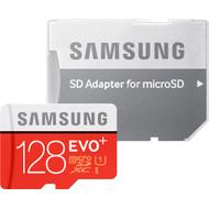Samsung microSDXC Evo+ 128 GB Class 10 + SD Adapter
