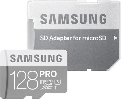 Samsung microSDXC PRO 128 GB