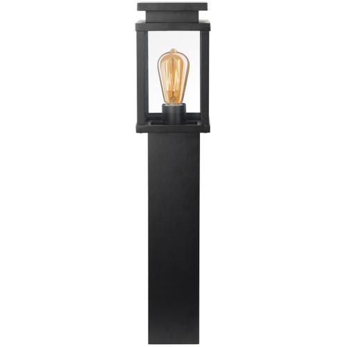 KS Verlichting Jersey Terras Sokkellamp Zwart