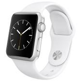 Apple Watch Sport 38mm Zilver/Witte Sportband