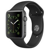 Apple Watch Sport 42mm Spacegrijs/Zwarte Sportband