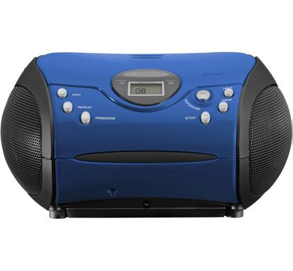Lenco SCD-24 Blauw/Zwart