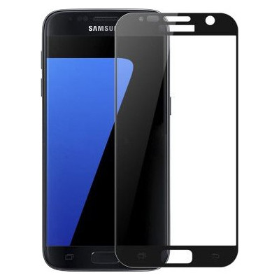 Pavoscreen Edge to Edge Glass Samsung Galaxy S7 Edge Zwart