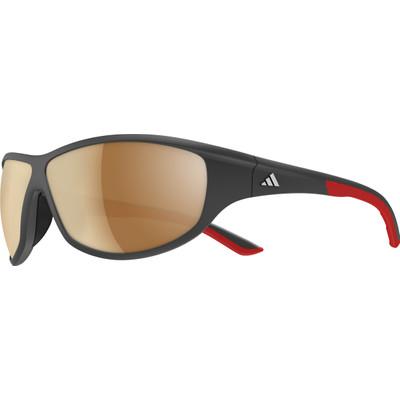 Image of Adidas Daroga Black Matte Red/Bluelight Filter Silver