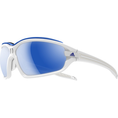 Image of Adidas Evil Eye Evo Pro L White Shiny White/Blue Mirror