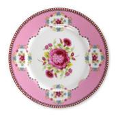 Pip Studio Floral Roze Gebaksbord 17 cm