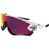 Oakley Jawbreaker Polished White/ Prizm Road