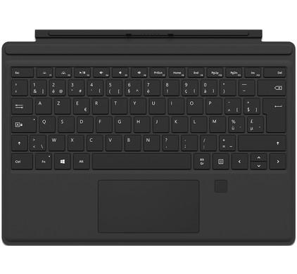 Microsoft Surface Pro 4 Type Cover + Vingerafdruk ID AZERTY