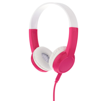 BuddyPhones Explore Koptelefoon Roze