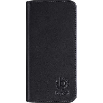 Image of Bugatti Book Case Oslo Apple iPhone 5/5S/SE Zwart