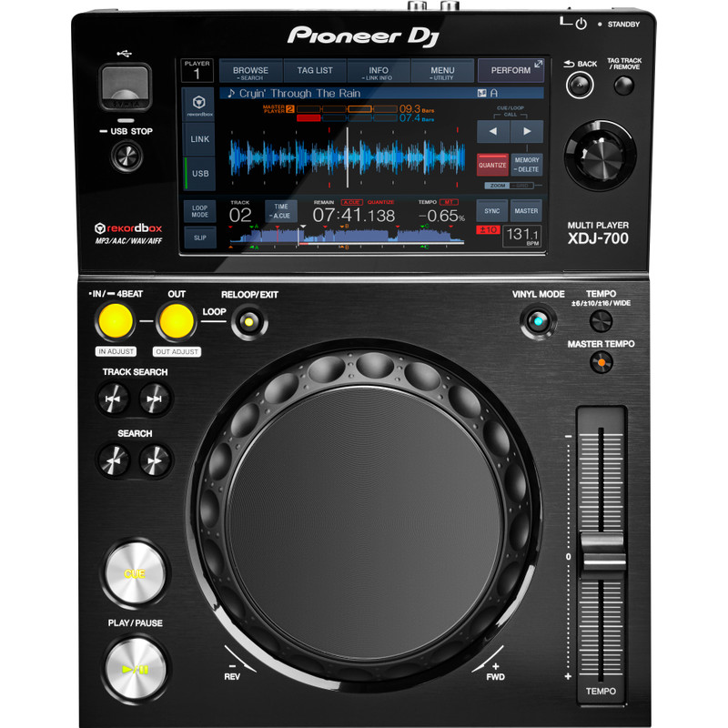 Pioneer XDJ-700 digitale tabletop