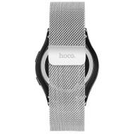 HOCO Milanese Samsung Gear S2 Classic Polsband Zilver
