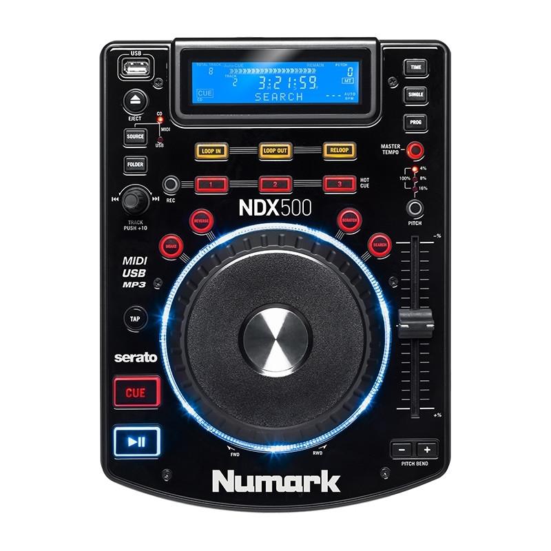 Numark NDX 500 tabletop media speler
