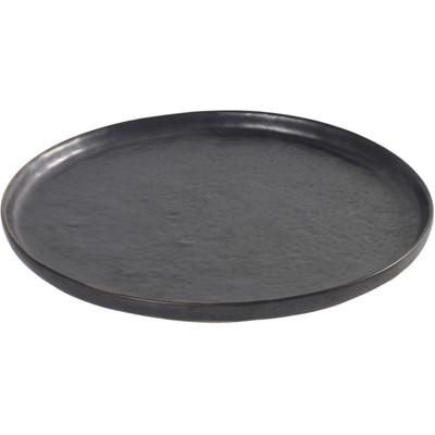 Image of Serax Pure Bord Rond 21,5 cm zwart