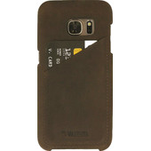 Valenta Backcover Classic Luxe Vintage Samsung Galaxy S7 Bruin
