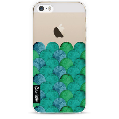 Image of Casetastic Softcover Apple iPhone 5/5S/SE Emerald Waves
