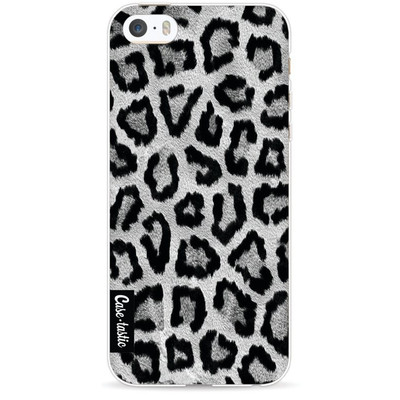 Image of Casetastic Softcover Apple iPhone 5/5S/SE Grey Leopard