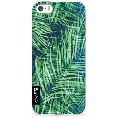 Image of Casetastic Softcover Apple iPhone 5/5S/SE Palm Leaves