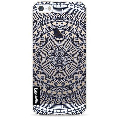Image of Casetastic Softcover Apple iPhone 5/5S/SE Round Mandala