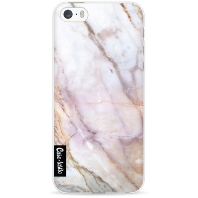 Image of Casetastic Softcover Apple iPhone 5/5S/SE Pink Marble