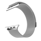 HOCO Milanese Apple Watch Polsband Zilver - 42mm