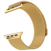 HOCO Milanese Apple Watch Polsband Goud - 38mm