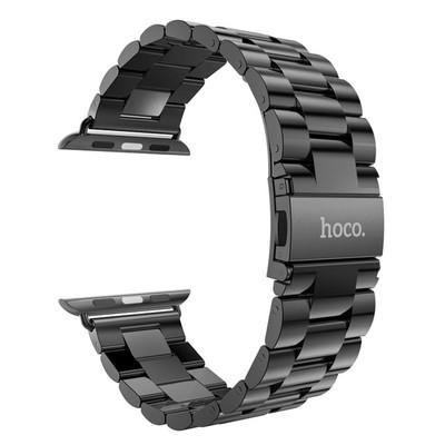 HOCO Metal Apple Watch Polsband 3 Schakels Grijs - 42mm