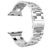 HOCO Metal Apple Watch Polsband 3 Schakels Zilver - 42mm