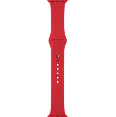 Apple Watch 42mm Polsband Sport Rood