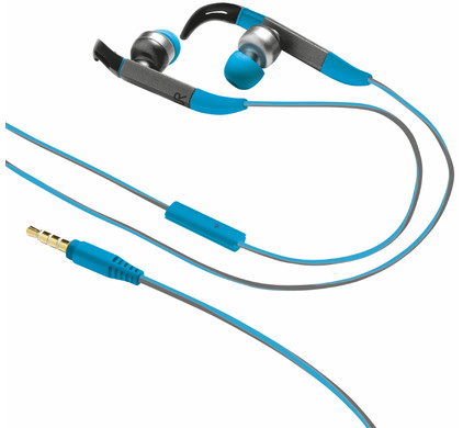 Trust Fit In-Ear Sports Blauw