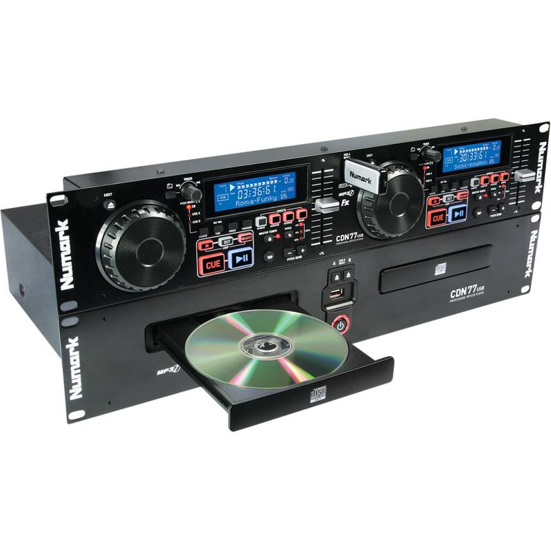 Numark CDN 77 USB dubbele multimedia speler