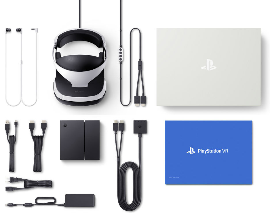Meegeleverd met PlayStation VR