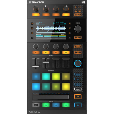 Image of Native Instruments Traktor Kontrol D2