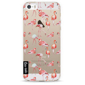 Casetastic Softcover Apple iPhone 5/5S/SE Flamingo Party