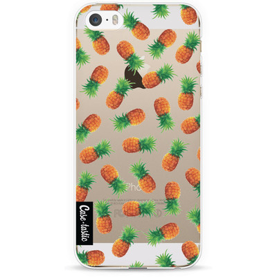 Image of Casetastic Softcover Apple iPhone 5/5S/SE Pineapple Paradise