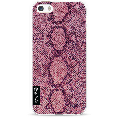 Image of Casetastic Softcover Apple iPhone 5/5S/SE Pink Snake