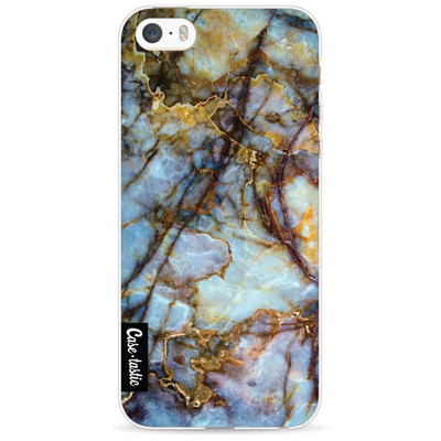 Image of Casetastic Softcover Apple iPhone 5/5S/SE Blue Marble