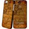Cover Apple iPhone 5/5S/SE Map