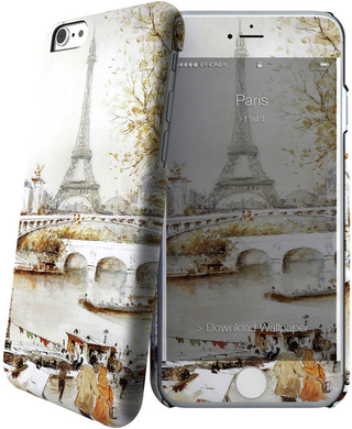 I-Paint Cover Apple iPhone 6/6s Paris