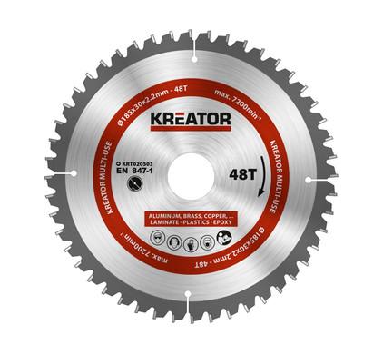 Kreator Universeel Zaagblad 185x30x2.2mm 48T